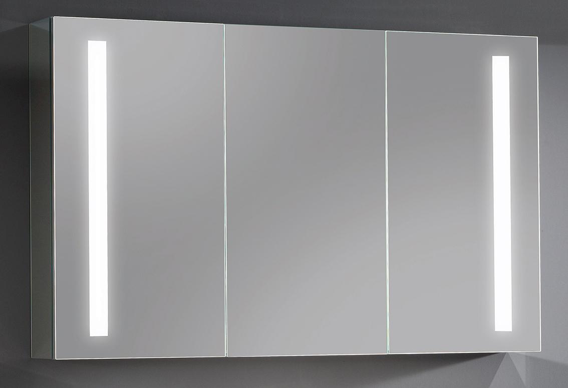 spiegelschr nke aluminium sanipa badm bel. Black Bedroom Furniture Sets. Home Design Ideas