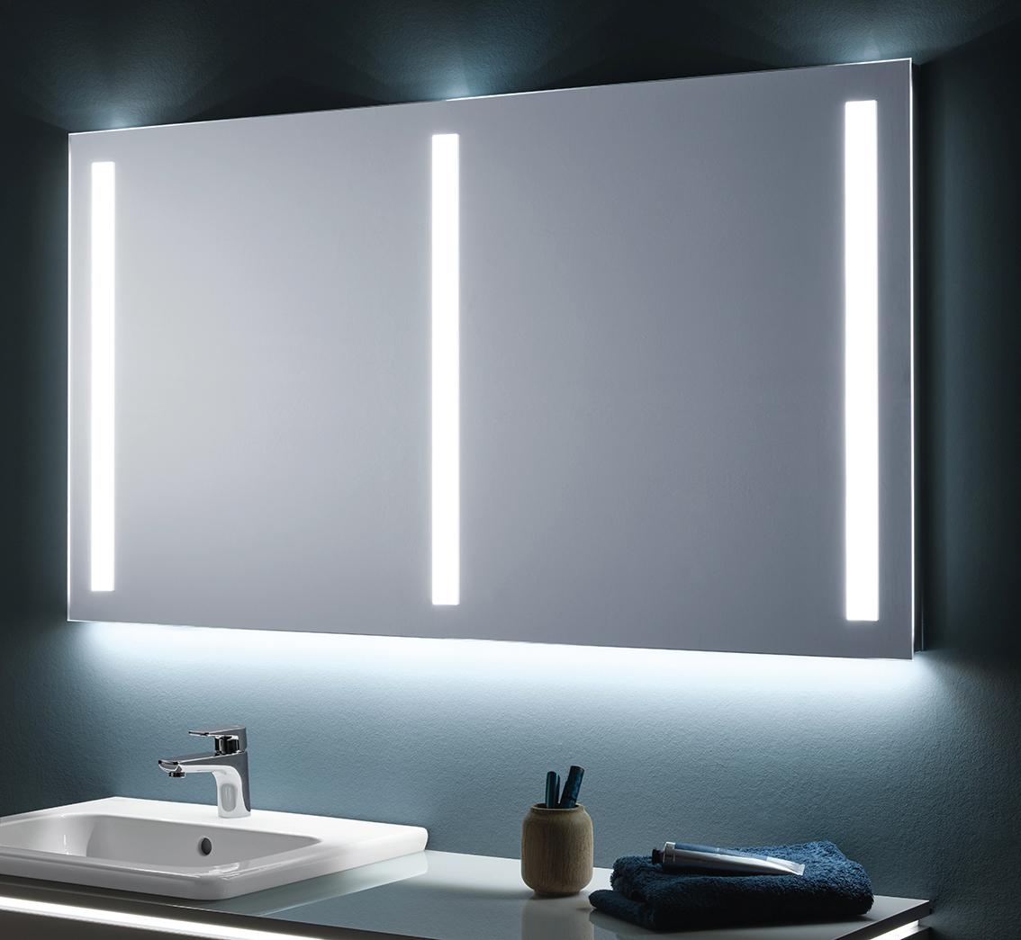 lichtspiegel sanipa badm bel. Black Bedroom Furniture Sets. Home Design Ideas